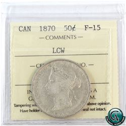 50-cent 1870 LCW ICCS Certified F-15.