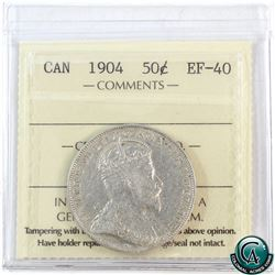 50-cent 1904 ICCS Certified EF-40.