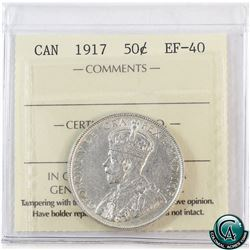 50-cent 1917 ICCS Certified EF-40.