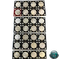 Silver $1 1935-1967 28-coin Collection. You will receive the following, 1935, 1936, 1937, 1938, 1939