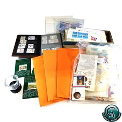Large Estate lot of World Stamps. You will receive a range of New and Used stamps in this collection