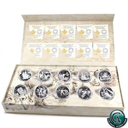 RCM Issue: 2014-2015 Canada $15 Exploring Canada Fine Silver Set in Deluxe Display. Tax Exempt