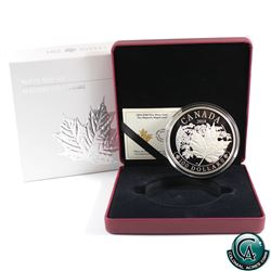RCM Issue: 2014 Canada $100 Majestic Maple Leaves 10oz Fine Silver Coin. (TAX Exempt)