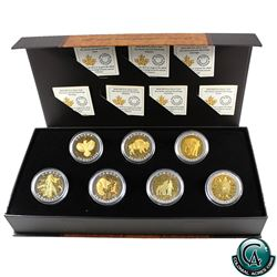 RCM Issue: 2015 Canada $20 Seven Sacred Teachings Complete Set with Deluxe Box (TAX Exempt)