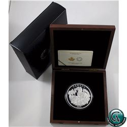 RCM Issue: 2015 Canada $125 Canadian Horse Fine Silver Half-Kilo Coin (capsule is scratched, inside