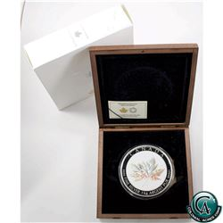 RCM Issue: 2015 Canada $250 Maple Leaf Forever Kilo Fine Silver Coin (capsule scratched on back, ins
