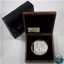 RCM Issue: 2016 Canada $250 In The Eyes of the Spirit Bear Kilo Fine Silver Coin (capsule scratched
