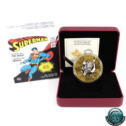 RCM Issue: 2017 Canada $50 DC Comics Originals - Brave & the Bold 3oz. Gold Plated Fine Silver Coin.