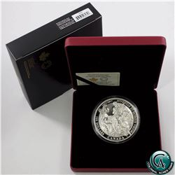 RCM Issue: 2017 Canada $100 150th Anniversary of Canadian Confederation 10oz Fine Silver Coin. (TAX