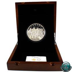 RCM Issue: 2017 Canada $100 Vimy Ridge 10oz Fine Silver Coin (TAX Exempt)