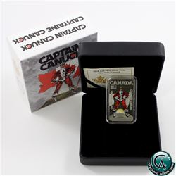 RCM Issue: 2018 Canada $20 Captain Canuck Fine Silver Coin (TAX Exempt)