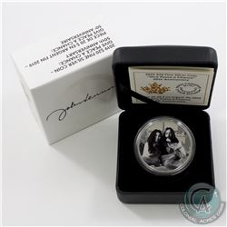 2019 Canada $20 Give Peace A Chance - 50th Anniversary Fine Silver Coin (Tax Exempt)