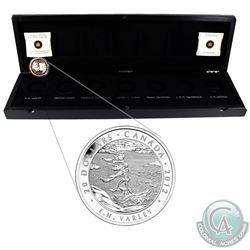 2012 Canada $20 Group Of Seven- V.F Varley Fine Silver Coin in Deluxe RCM Case (Tax Exempt)