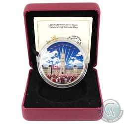 2017 $30 Celebrating Canada Day Fine Silver Coin (Tax Exempt) Missing outer packaging.