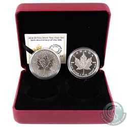 Special Issue: 2018 Canada $5 2-coin 30th Anniversary of the SML Set (Tax Exempt)