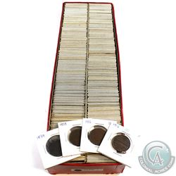 **Large Estate Lot 1859-1968 Canada 1-cent Collection. You will receive approx. 358 coins in this co