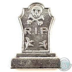 Monarch Precious Metals 5oz R.I.P. Tombstone .999 Fine Silver. (TAX Exempt)