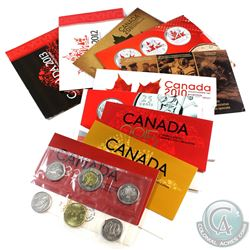 Estate Lot of 2009-2015 Canada Proof Like Sets in Envelopes. You will receive 2009 Olympic Special E