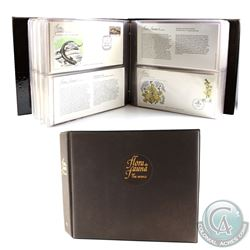 * 1980-1982 Flora and Fauna of the World Limited Edition Collection of First Day Covers Issued by Fl