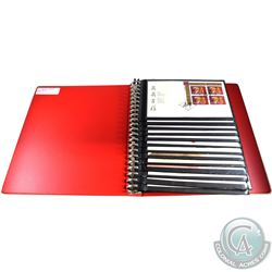 * Estate Lot of 1998 & 1999 Canada First Day Covers in Red Uni-Safe Binder with Cover. You will rece