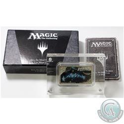 2014 Niue $2 Magic the Gathering - Jace the Mind Sculptor 1oz Fine Silver Coloured Bar (Lightly tone