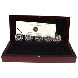 2012 Canada 1-cent Farewell to the Penny 5-coin Set (Tax Exempt)