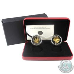 2005 Canada $8 Chinese Railway Workers Fine Silver 2-Coin Set (Tax Exempt)
