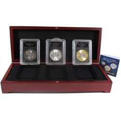 2018 30th Anniversary Canadian Silver Maple Leaf 3-Coin Set (Tax Exempt) You will receive the BU, BU