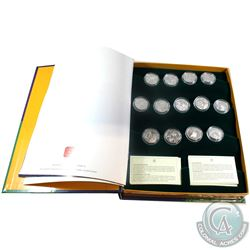 2001-2003 Festivals of Canada Sterling Silver 50-cent Set issued by the Royal Canadian Mint. The set
