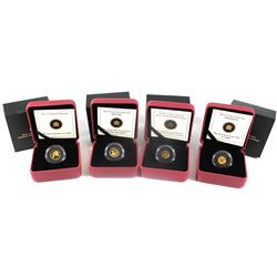 2012-2014 Canada Fine Gold RCM Coin collection (Tax Exempt) You will receive the 2012 1/25oz 150th A