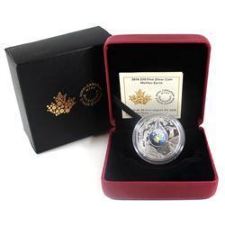2016 Canada $20 Mother Earth Fine Silver Coin (TAX Exempt)