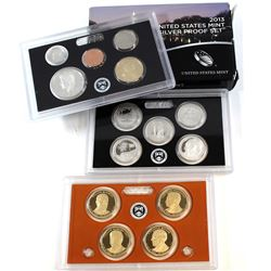 2013-S United States Mint Silver Proof Set. Outer box is torn.