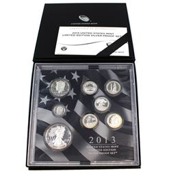 2013-S United States Mint Limited Edition Silver Proof Set.  Toned.