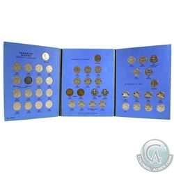 1922-1960 Canada 5-cent Collection in blue Whitman Folder. You will receive each coin  from 1922 to