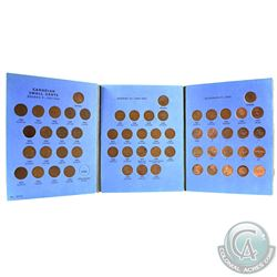 1920-1972 Canada 1-cent Collection in blue Whitman Folder.  You will receive each coin from 1920 to