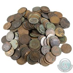 *Estate Lot of Canada Large 1-cent.  You will receive approximately 212 Coins in this Collection. 21