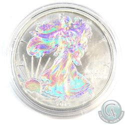 2014 United States $1 Holographic 1oz Fine Silver Eagle (Tax Exempt)