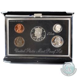 1995 United States Mint Premier Proof 5-coin set. Coins contain natural toning and comes in original