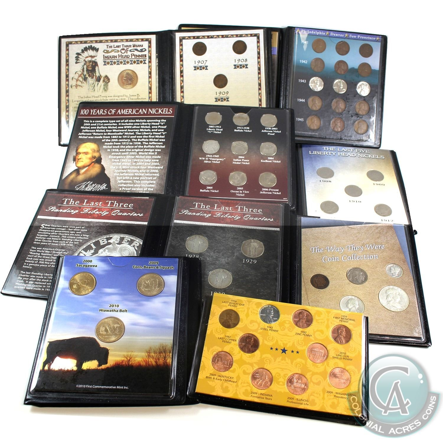 First Commemorative Mint Last 10 Years of Indian Head Pennies