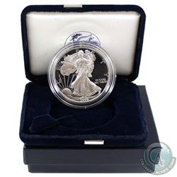 1999 United States Proof 1oz Fine Silver Eagle in all original mint packaging with COA. (Tax Exempt)