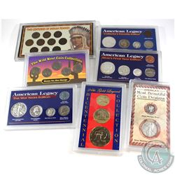 Estate Lot United States Coin Collection in Presentation Cases. You will receive the following; Most