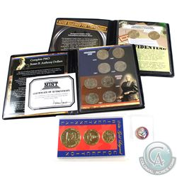 Estate Lot of United States Commemorative Coins and Set Collection. You will receive 1976 3-coin 24k