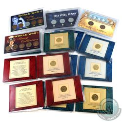 Estate Lot of United States Commemorative Coins and Sets Collection. You will receive 6x gold layere