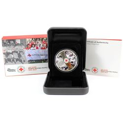 Perth Mint Issue: 2014 Australia 100th Anniversary of Australian Red Cross Silver coin (Tax Exempt).