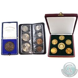 Rhodesia Issue: Lot of Rhodesian Coin Sets. You will receive a 6-coin Medallion set Commemorating th