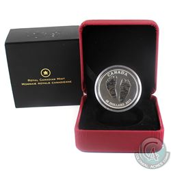 2013 Canada $10 Welcome to the World - Baby Feet Fine Silver Coin. (TAX Exempt) Note the coin comes