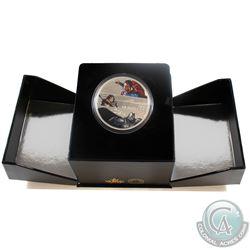 2016 Canada $30 Batman VS Superman Dawn of Justice Fine Silver Coin (TAX exempt) Capsule is scratche