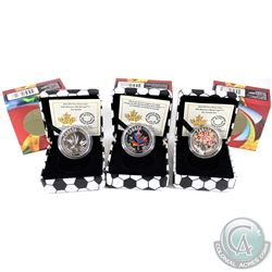 "2015 Canada $10 FIFA Women's World Cup Fine Silver Coins. You will receive ""Go Canada Go!"", Canada W"