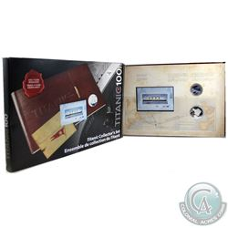 2012 Canada Titanic 2-Coin and Stamp Collector's Set (1912-2012). Outer Box contains light wear.