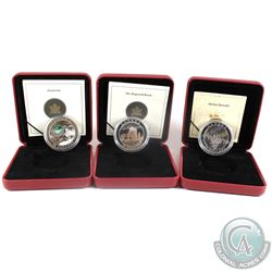 2004-2005 Canada $20 Natural Wonders Fine Silver Coin Collection (Tax Exempt)  You will receive the